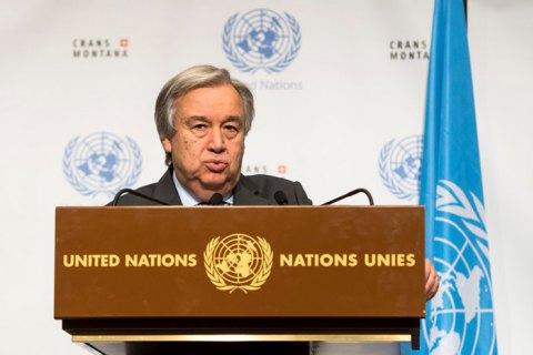 Генсек ООН закликав світ відмовитися від ядерної зброї
