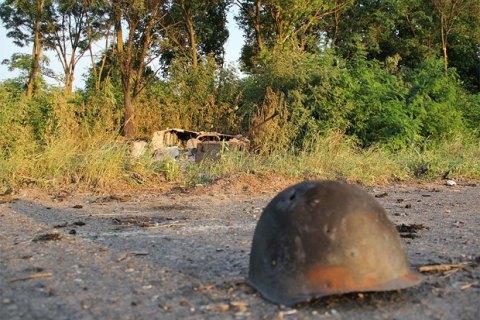 За добу в зоні АТО загинув один військовий