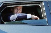 Макрон перед вторым туром проведет встречи с Порошенко и Зеленским