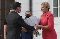 Президентка Словаччини візьме участь у саміті Кримської платформи