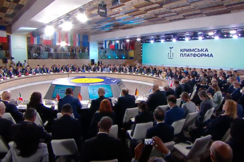 Окупація Криму ставить під сумнів ефективність усієї міжнародної системи безпеки, – Зеленський