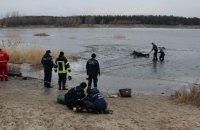 В Луганской области на озере под лед провалились пять детей