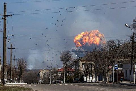 В результате взрывов в Балаклее повреждены более двух сотен зданий