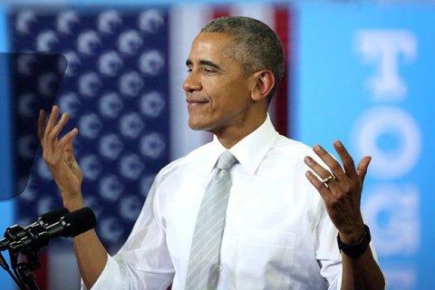 Обама виступить з першою промовою після президентства