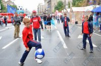 Каждый третий украинский ребенок ходит в спортивную секцию