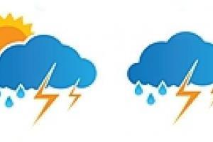 Завтра в Украине дождь и грозы