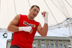 Кличко спаррингуется с будущим чемпионом