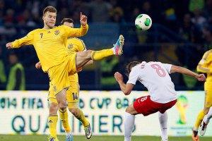 Сборная Украины догнала Россию в рейтинге ФИФА