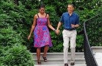 Обама плачет от слов своей жены