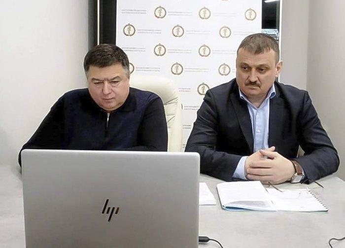 Олександр Касмінін (справа) та Олександр Тупицький