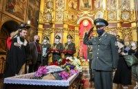 У Києві попрощалися з учасником підпілля ОУН та політв'язнем Орестом Васкулом