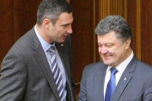 Кличко підтримає Порошенка на виборах президента