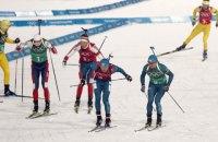 Чоловічу збірну України з біатлону зняли з естафети на етапі Кубка світу