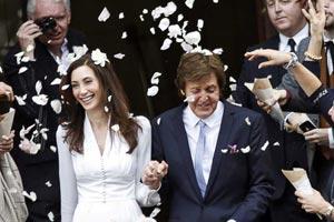 Пол Маккартни женится в третий раз