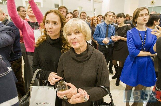 Ада Роговцева с дочерью, актрисой и режиссером Екатериной Степанковой