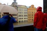 Прага стремительно уходит под воду