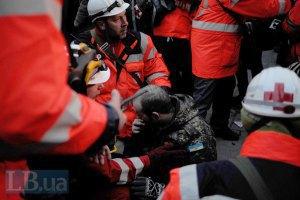 На Грушевського зростає кількість поранених з обох сторін