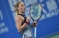 15-річна українська тенісистка вийшла у друге коло кваліфікації AusOpen