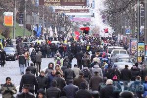 Майдан расширяется: в правительственном квартале установят палатки