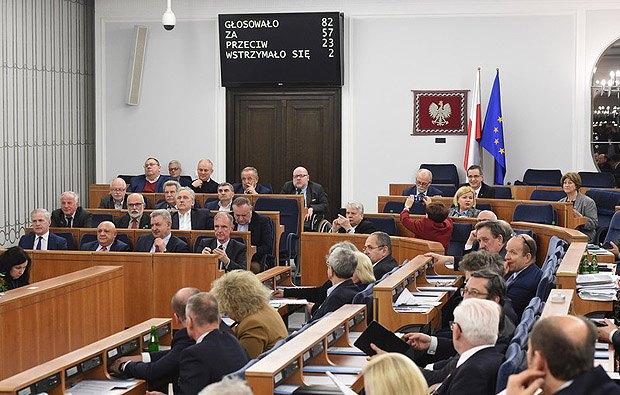 Сенат Польши проголосовал закон об Институте нацпамяти