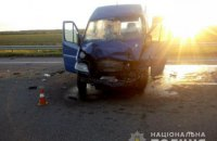 Одразу дві аварії з маршрутками відбулися в Миколаївській області: 16 постраждалих