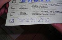 """""""Батькивщина"""" сняла мажоритарщиков в семи округах"""