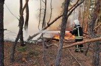 Спасатели потушили восемь из десяти очагов пожаров на Луганщине