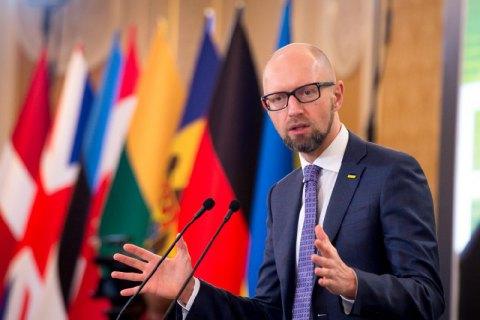 Яценюк поддержал возможность приостановки украинской делегации в ПАСЕ