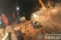 В Тернополе при сходе оползня погибли двое рабочих