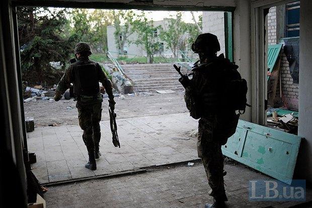 Батальон <<Донбасс>> в Широкино