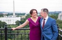 Волкер женился на журналистке