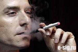 В Бремене запрещают электронные сигареты