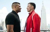 Бой за чемпионский пояс: Деревянченко и Головкин сошлись в первой битве взглядов