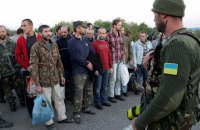 З полону бойовиків звільнено 10 військових (додано фото)