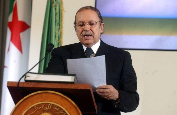 Президент Алжира Абдель Азиз Бутефлик