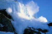 В горах опасность схода лавин