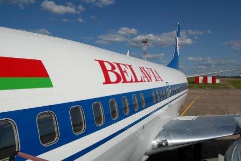 """Літак """"Бєлавіа"""" рейсу Мінськ-Барселона не пустили в ЄС"""