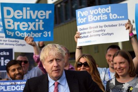 Джонсон заявил о выходе Великобритании из ЕС до 31 октября