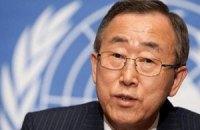 Генсек ООН обеспокоен сообщением об обстреле школы в Донецке