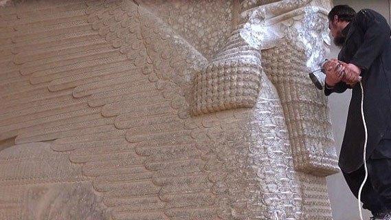 Знищення пам`яток музею бойовиками ІГІЛ