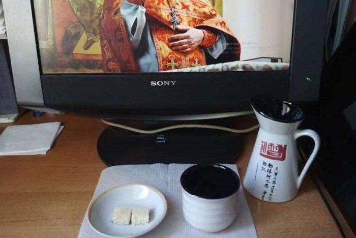 Дистанційне освячення Дарів під час онлайн-літургії