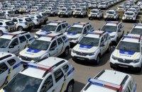 Поліція отримала 300 нових Renault Duster