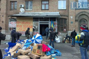 Нападу зазнав ще один районний офіс ПР у Києві