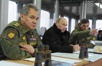 Росія раптово почала перевірку боєготовності військ і флоту поряд з українським кордоном