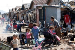 У Києві зупинився циганський табір