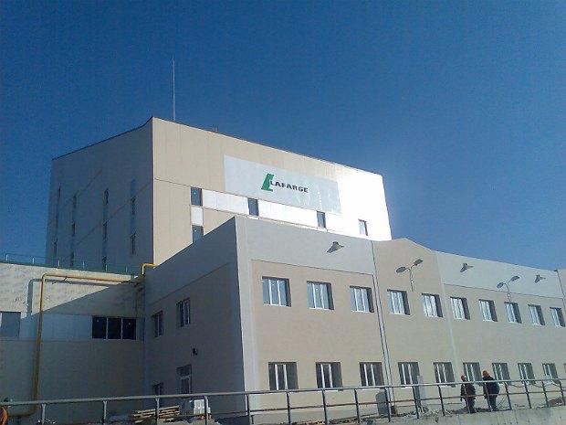 Завод ЛяФарж в Артемовске