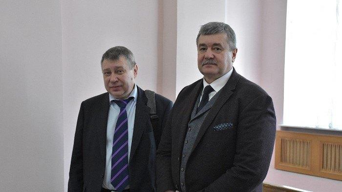 Андрій Василенко (зліва), Сергій Прилипко