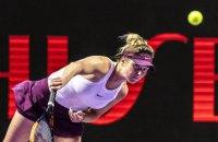 Світоліна на Підсумковому турнірі WTA почала захист титулу з перемоги