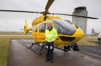 Британський принц став пілотом вертольота швидкої допомоги