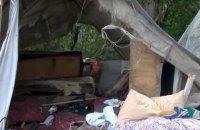В Ивано-Франковске неизвестные подожгли табор ромов
